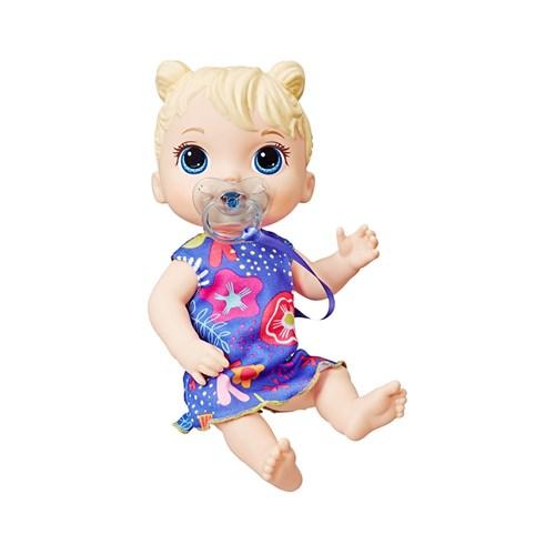 Boneca Baby Alive Primeiros Sons Hasbro Loira