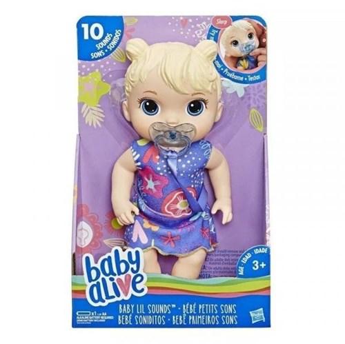 Boneca Baby Alive Primeiros Sons Loira - E3690 - Hasbro