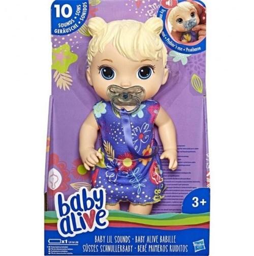 Boneca Baby Alive Primeiros Sons Loira E3690-Hasbro