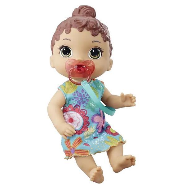Boneca Baby Alive Primeiros Sons Morena - E3688 - Hasbro