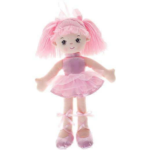 Tudo sobre 'Boneca Bailarina Gliter Rosa - Buba'