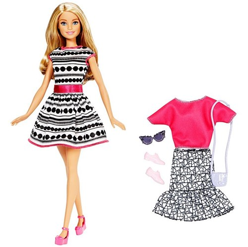 Boneca Barbie Fashion - Modelo FFF59