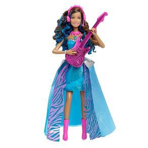 Boneca Barbie Mattel Family Rock Royals Amiga
