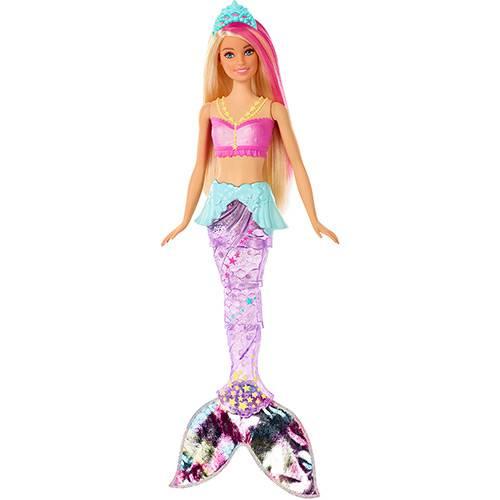 Tudo sobre 'Boneca Barbie Mattel Sereia Brilhante GFL82'