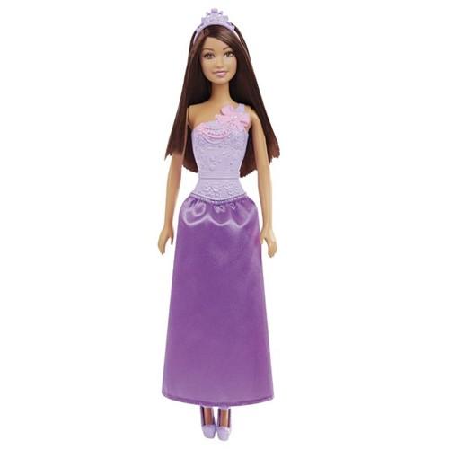 Tudo sobre 'Boneca Barbie Princesas Básicas Mattel Roxo Roxo'