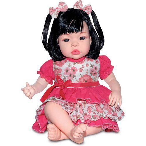 Tudo sobre 'Boneca com Mecanismo Baby Kiss Morena'
