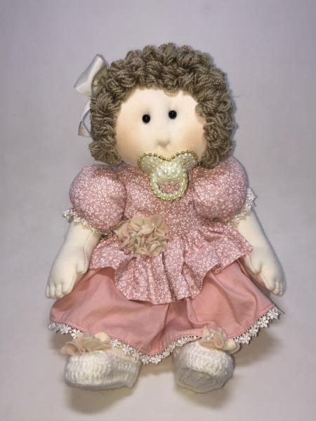 Boneca de Pano Bebê - Lucia Costa
