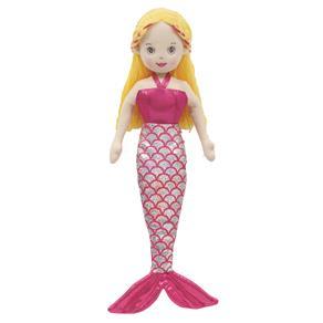 Boneca de Pano Buba Toys Sereia Encantada