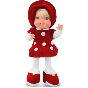 Boneca de Pano Fashion Vermelha 4056 - Cortex