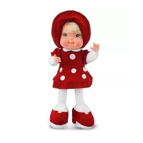 Boneca de Pano Fashion Vermelha Cortex 4056