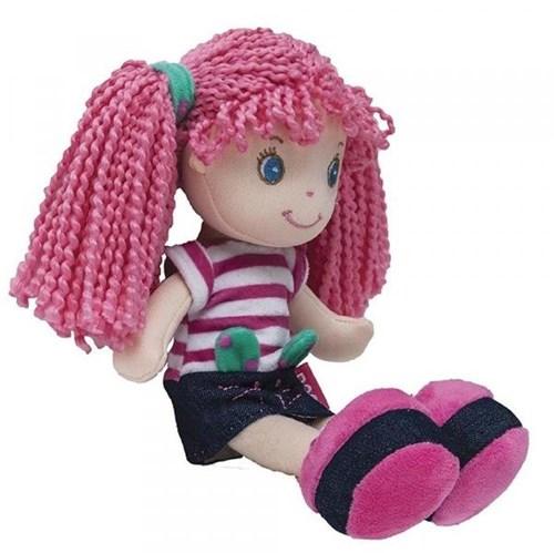 Boneca de Pano Gatinha Buba Rosa - 8140