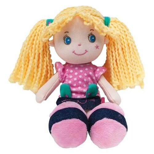Boneca de Pano Gatinha Rosa - 8140 Buba