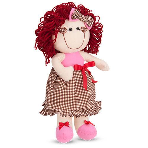 Boneca de Pelucia Maria 36cm