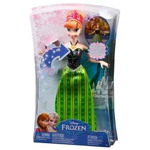 Boneca - Disney Frozen - Anna Musical - Mattel