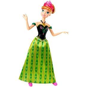 Boneca Disney Frozen Anna Musical - Mattel