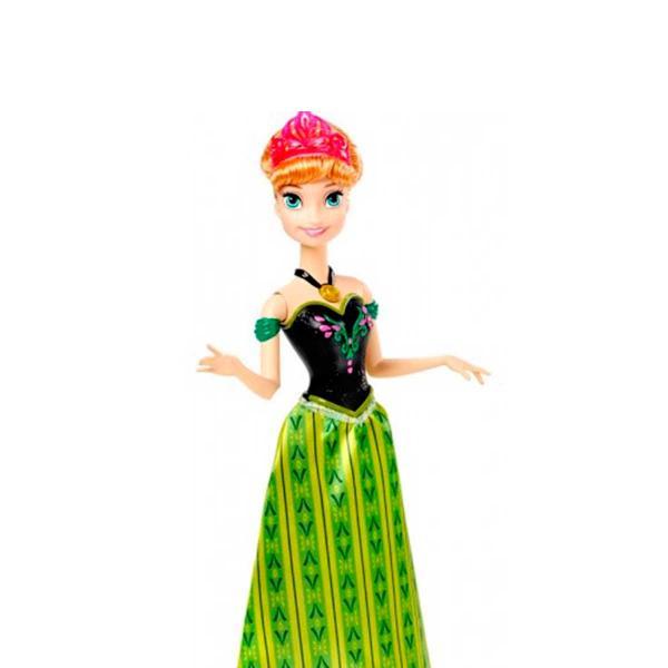 Boneca Frozen Anna Musical - Mattel CMK70