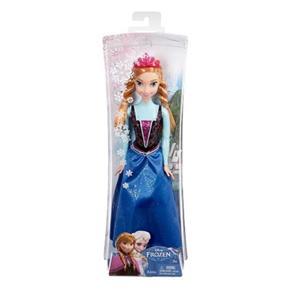 Boneca Frozen Mattel Princesa Anna Brilhante