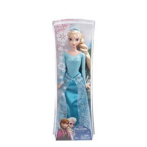Boneca Frozen Mattel Princesa Elsa Brilhante