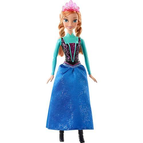 Tudo sobre 'Boneca Frozen Princesa Anna Brilhante - Mattel'