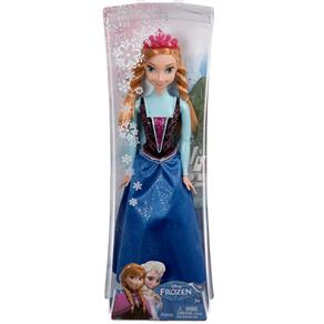 Boneca Frozen Princesa Anna Brilhante - Mattel