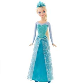 Boneca Frozen Princesa Elsa Brilhante - Mattel