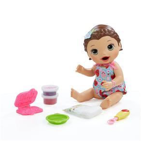 Boneca Hasbro Baby Alive Lanchinho Divertido Morena