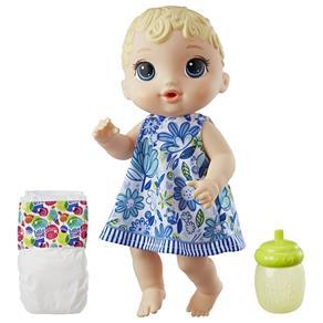 Boneca Hasbro Baby Alive Loira, Hora do Xixi