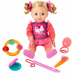 Tudo sobre 'Boneca Little Mommy Primeira Aula de Música - Mattel'