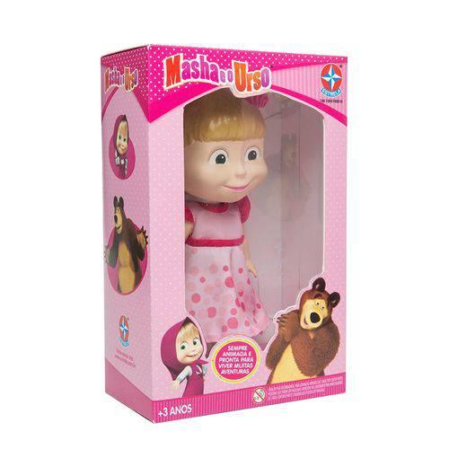 Boneca Masha Vinil 17 Cm