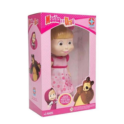 Boneca Masha Vinil - Estrela