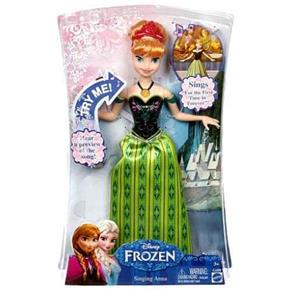 Boneca Mattel Anna Musical Frozen Cmk70