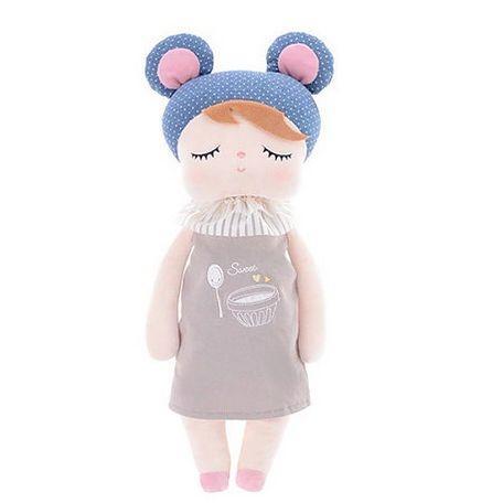 Boneca Metoo Angela Doceira Retro Bear Azul - Metoo