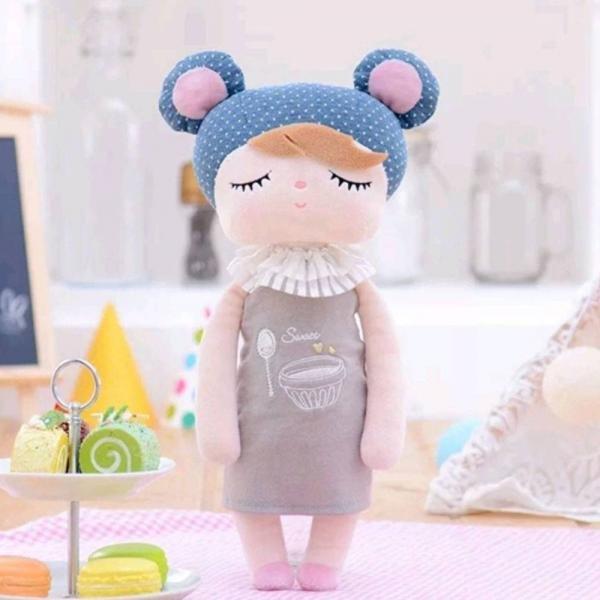 Boneca Metoo Angela Doceira Retro Bear - Azul - Metoo