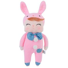 Boneca Metoo Doll Angela Pink Bunny