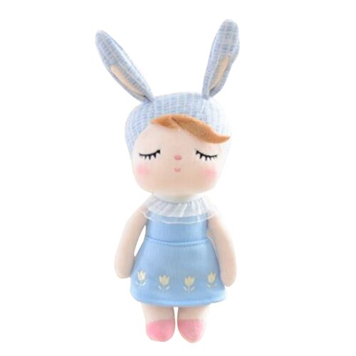 Boneca Mini Metoo Angela Jardineira Azul