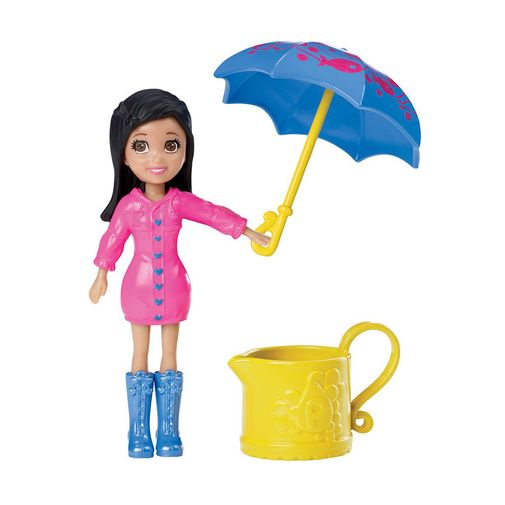 Tudo sobre 'Boneca Polly Pocket - Diversão na Chuva Crissy - Mattel'