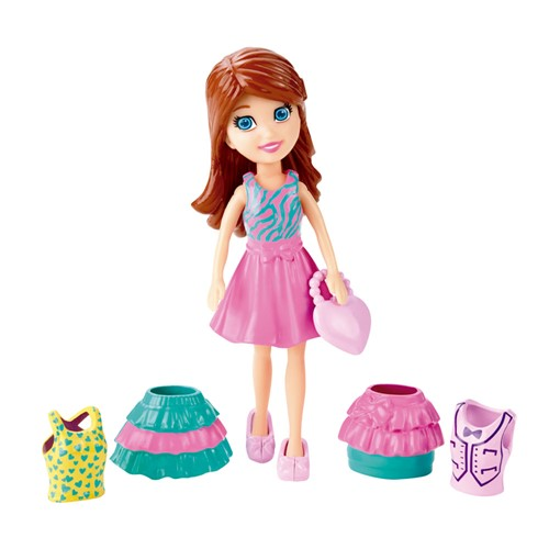 Tudo sobre 'Boneca - Polly Pocket - Super Fashion - Lila'