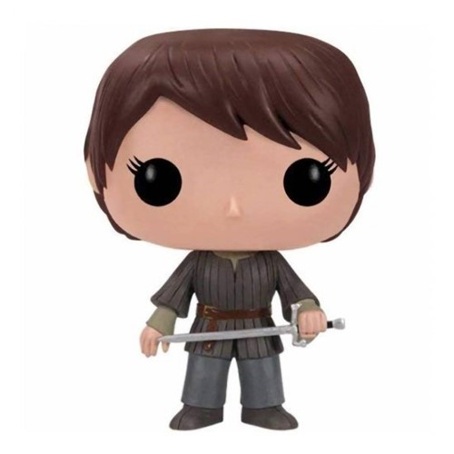Tudo sobre 'Boneco Arya Stark Game Of Thrones Pop! 09 - Funko'