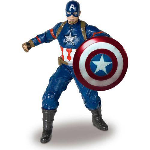 Tudo sobre 'Boneco Capitão América - Avengers - Mimo'