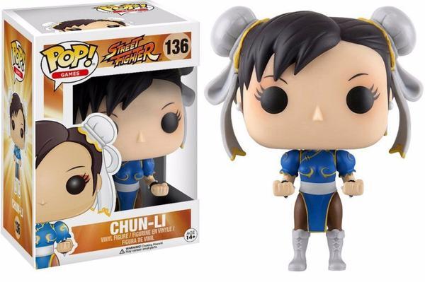 Boneco Chun Li Funko Pop Street Fighter 136