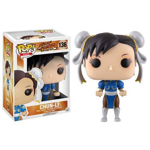 Boneco Chun-li - Street Fighter - Funko Pop!