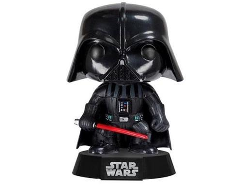 Boneco Darth Vader Star Wars Pop! 01 - Funko - Minimundi.com.br