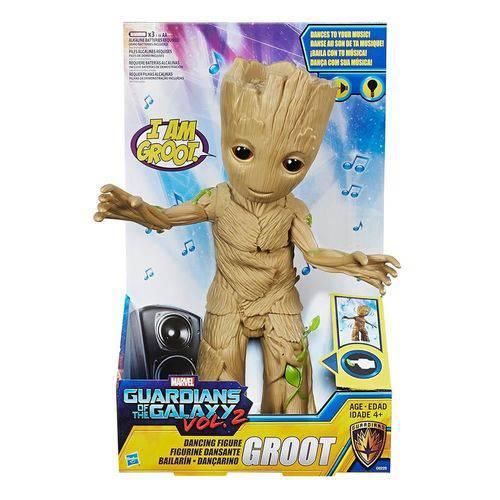 Tudo sobre 'Boneco Eletrônico Baby Groot Dançarino Guardiões da Galáxia Hasbro'