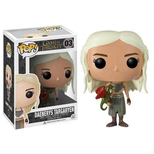 Tudo sobre 'Boneco Funko Pop Daenerys Targaryen 03'