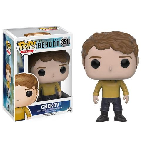Boneco Funko Pop Star Trek Beyond - Chekov