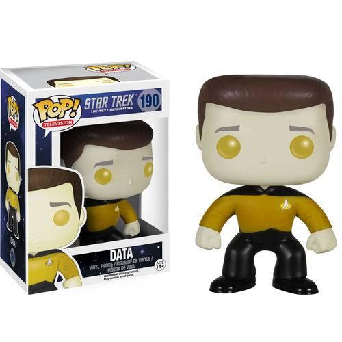 Boneco Funko Pop - Star Trek Data 190