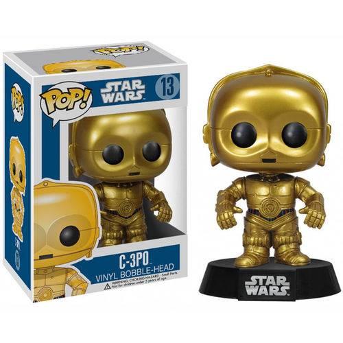 Boneco Funko Pop Star Wars C-3po 13