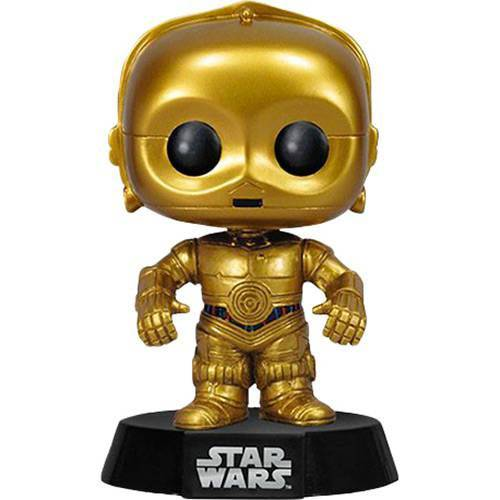 Boneco Funko Pop Star Wars C-3PO