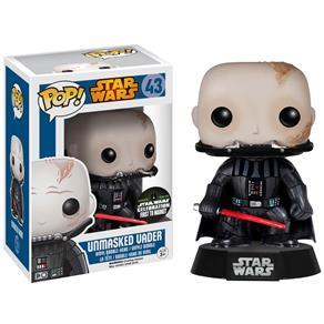 Boneco Funko Pop Star Wars - Darth Vader Sem Máscara