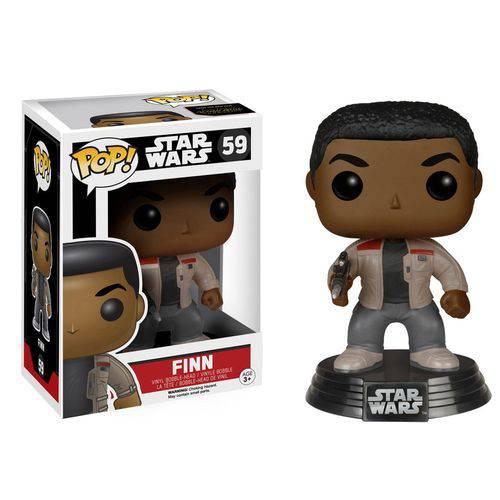 Tudo sobre 'Boneco Funko Pop Star Wars Finn'